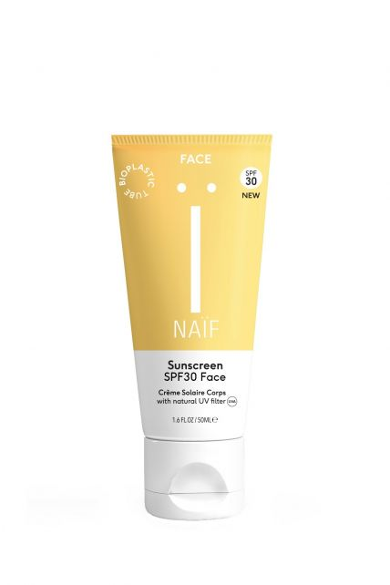 Naïf---Natuurlijke-zonnebrandcrème-gezicht---SPF30---50ml