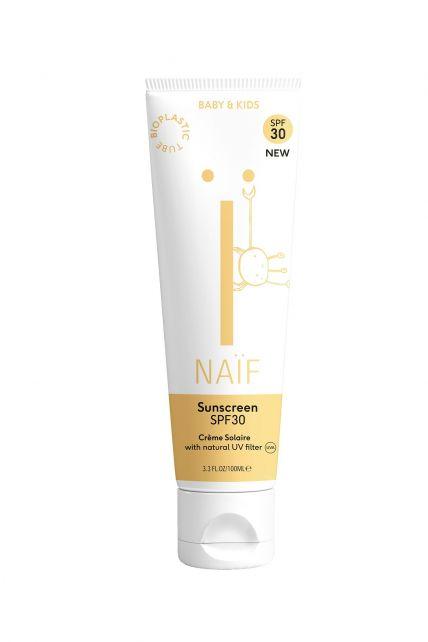 Naïf---Natuurlijke-zonnebrandcrème-voor-baby's-&-kids---SPF30---100ml